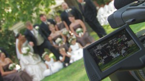 Cool shot at a wedding in Abingdon, VA.