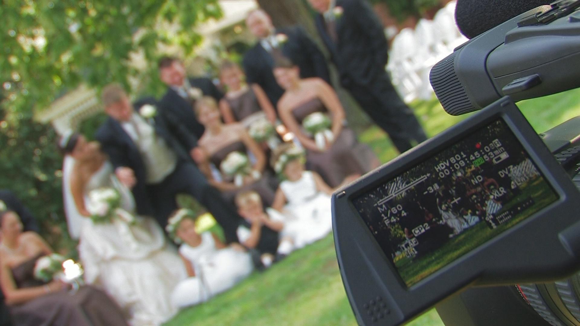 Cool Shot At A Wedding In Abingdon Va