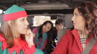 Eagle Finance Holiday Christmas TV Commercial with Elf appearing and suggesting a loan.