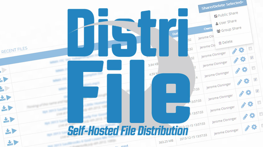 DistriFile – Self-Hosted File Distribution