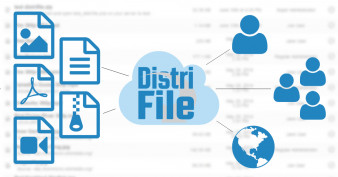 DistriFile makes sharing files to users and groups very easy!