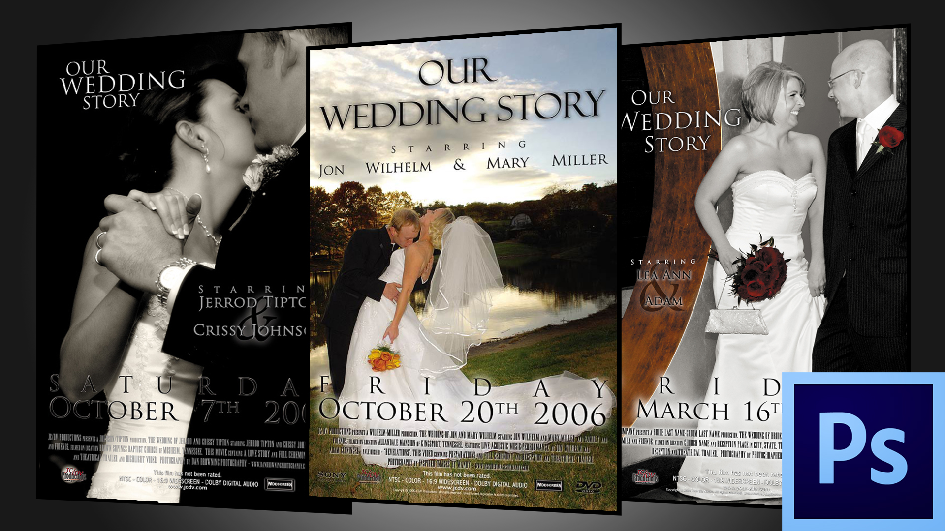 Wedding Movie Poster Template » Jerome Cloninger