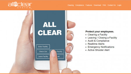 All Clear System Website